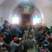 ביקור בבית הכנסת של משפחת זינאתי בפקיעין