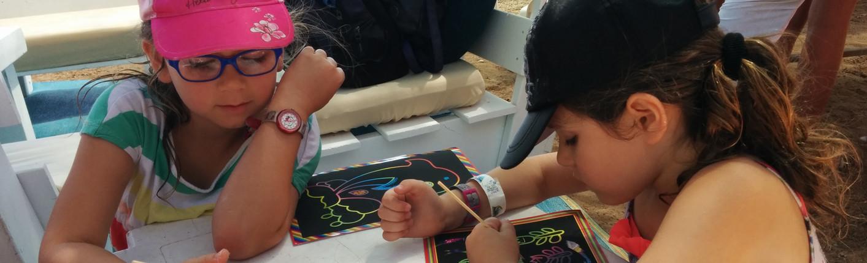 ילדות יוצרות בנופש קיץ
