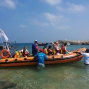 שטים בסירות טורנדו